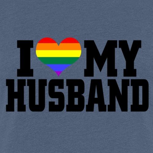 I Heart My Husband - Women's Premium T-Shirt