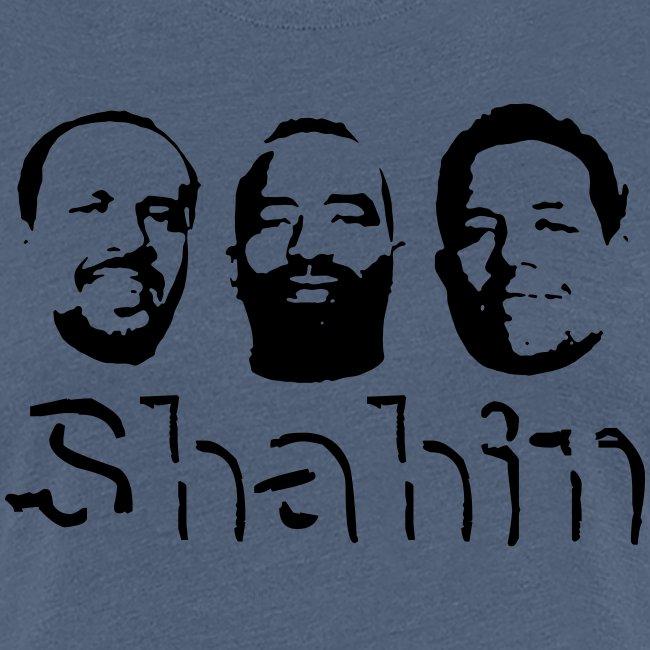 Shahin Team mit Schrift