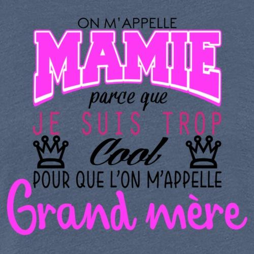 Mamie - T-shirt Premium Femme