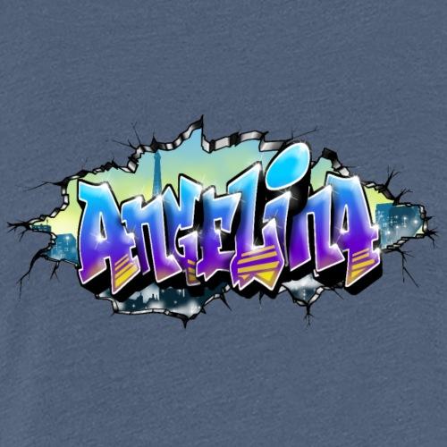 Angelina Graffiti - T-shirt Premium Femme
