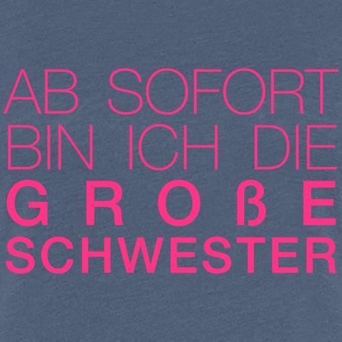 Große Schwester - Frauen Premium T-Shirt