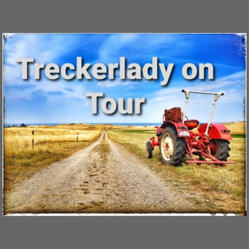 Treckerlady on Tour - Frauen Premium T-Shirt