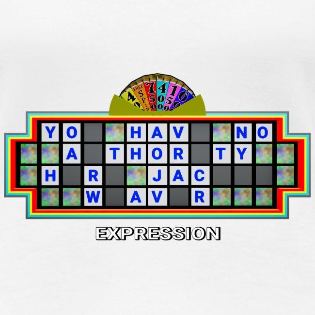 Jackie Weaver Wheel of Fortune