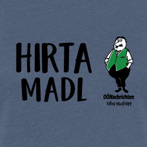Hirtamadl - Frauen Premium T-Shirt