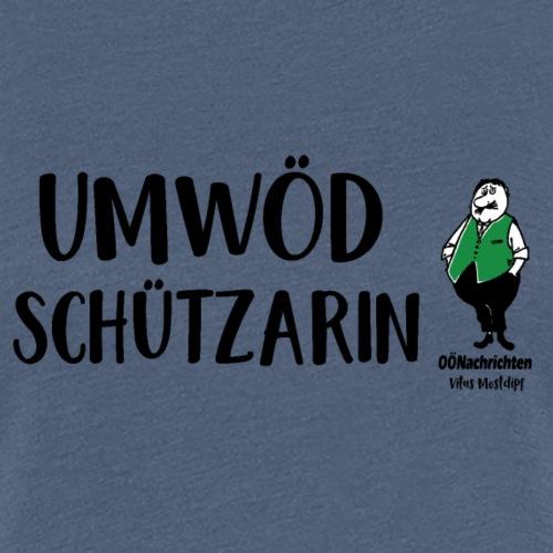 Umwödschützarin - Frauen Premium T-Shirt