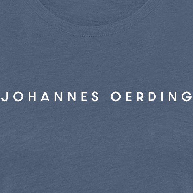 Johannes Oerding Schriftzug