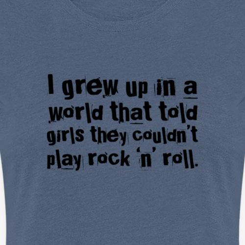 Sassy Lassie - Joan Jett - Women's Premium T-Shirt