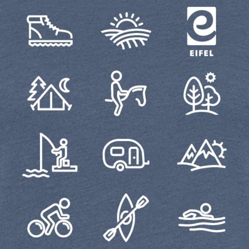 Eifel - Freizeit - weiß - Frauen Premium T-Shirt