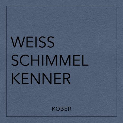 Käse Kober Weiss Schimmel Kenner - Frauen Premium T-Shirt
