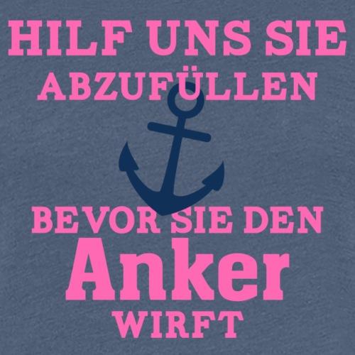 JGA Shirts | Braut | Team Braut | Anker - Frauen Premium T-Shirt