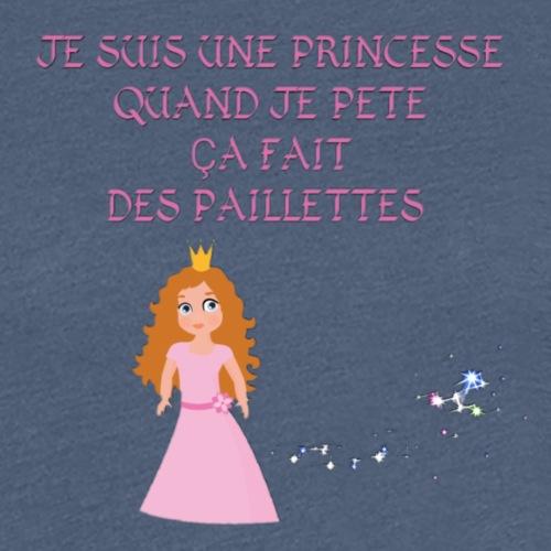 Princesse parfaite - T-shirt Premium Femme
