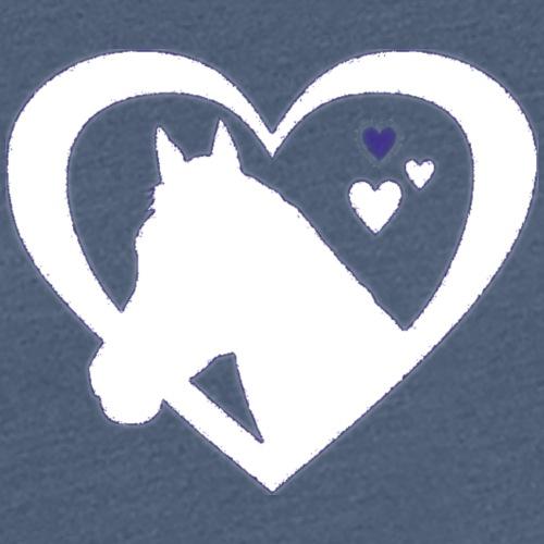 horse heart - Vrouwen Premium T-shirt