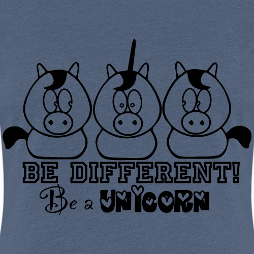 be different - be a unicorn