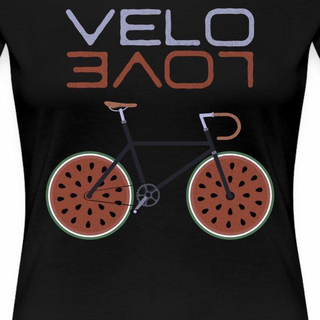 Melonen Bike Shirt Velo Love Shirt Rennrad Shirt