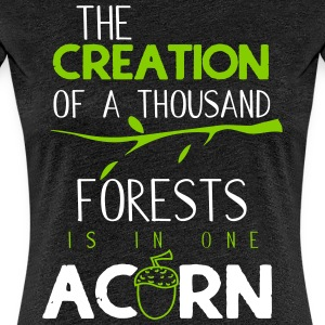 The creation of a thousand forests - Women's Premium T-Shirt