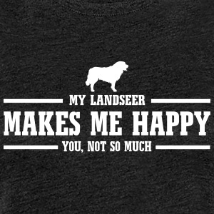 LANDSEER makes me happy - Women's Premium T-Shirt