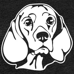 BEAGLE PORTRAIT - Women's Premium T-Shirt