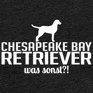 CHESAPEAKE BAY RETRIEVER was sonst - Frauen Premium T-Shirt