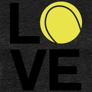 tennis_love - Dame premium T-shirt