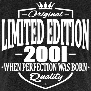 Limited edition 2001 - Vrouwen Premium T-shirt