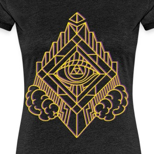 GeomTRIBE tatouage KoralDesign - T-shirt Premium Femme