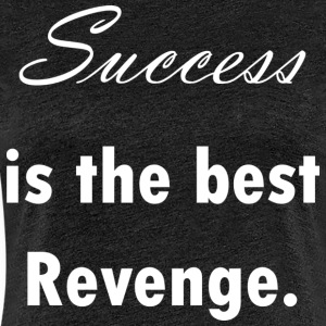 success_revenge_white - Premium T-skjorte for kvinner