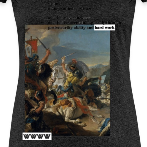 win-ner - Frauen Premium T-Shirt