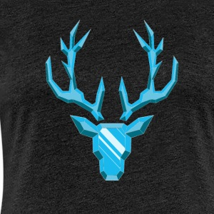 Precious Stone: Diamond Deer - Women's Premium T-Shirt