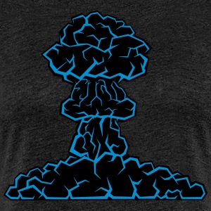 mushroom cloud - Women's Premium T-Shirt
