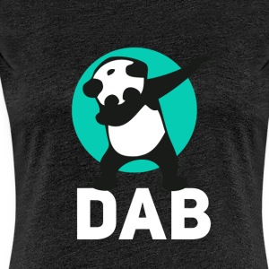 dab panda touchdown Football crass Music LOL funny - Women's Premium T-Shirt