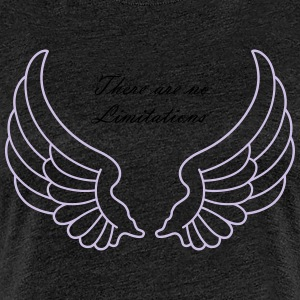 There are no Limitations - Women's Premium T-Shirt