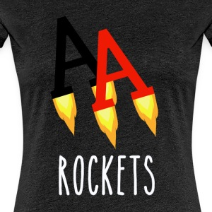 Poker Rockets - Premium-T-shirt dam