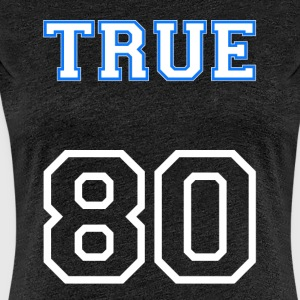 True80's big - Premium-T-shirt dam