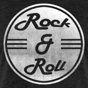 Rock & Roll - Premium-T-shirt dam
