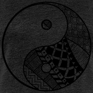 Decorative Yin-Yang - Women's Premium T-Shirt