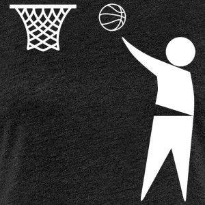basketbal Trash - Vrouwen Premium T-shirt