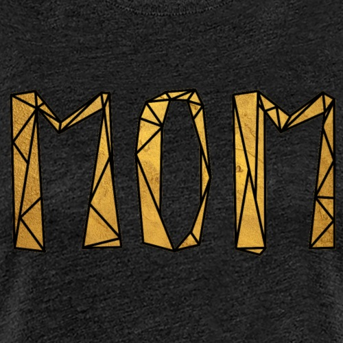 Mom - Gold - Frauen Premium T-Shirt