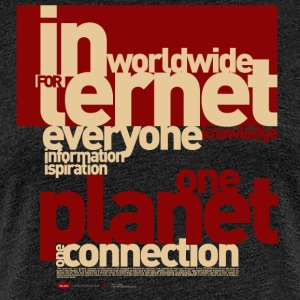 Internet-1 - Frauen Premium T-Shirt