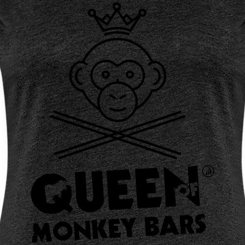 Queen of Monkey Bars - T-shirt Premium Femme