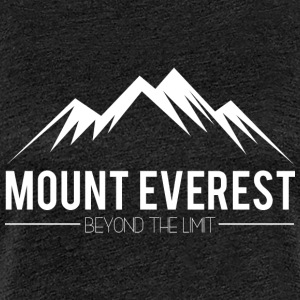 Everest Beyond the Limit - Women's Premium T-Shirt