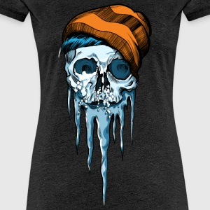 Snow Skull - Women's Premium T-Shirt