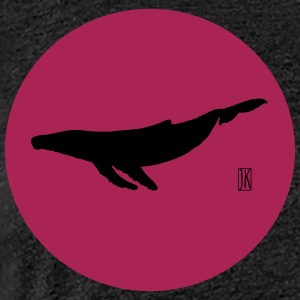 Whale of simplicity - Women's Premium T-Shirt