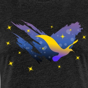 Space Atlas Ladies tee Yellow Star - Women's Premium T-Shirt