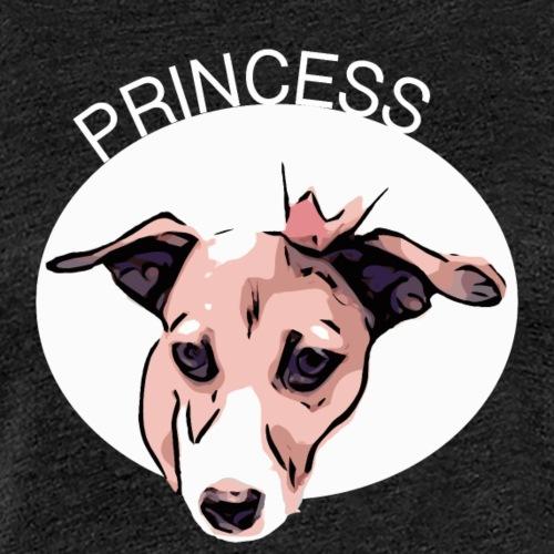princess white - Frauen Premium T-Shirt