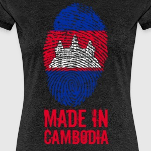 Made In Cambodia / Cambodia - Women's Premium T-Shirt