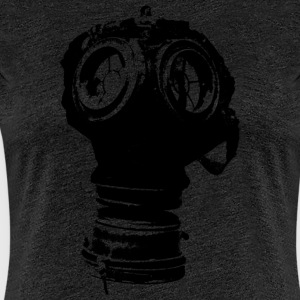 gas-mask2 - Dame premium T-shirt