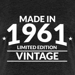 made in 1961 - Frauen Premium T-Shirt