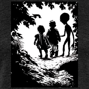 Alien abduction - Women's Premium T-Shirt