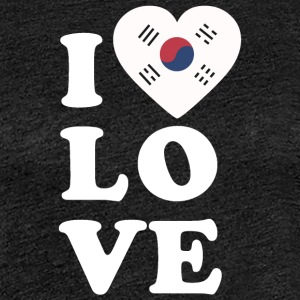 I love South Korea - Frauen Premium T-Shirt