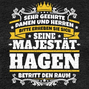 His Majesty Hagen - Women's Premium T-Shirt